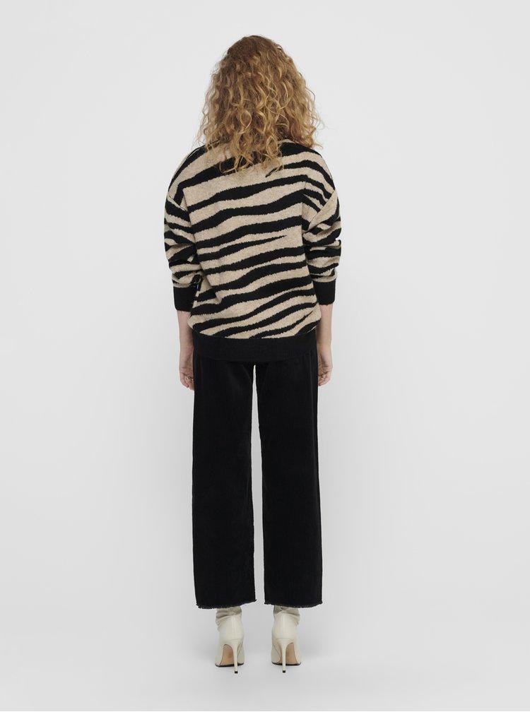 Pulovere pentru femei Jacqueline de Yong - bej, negru