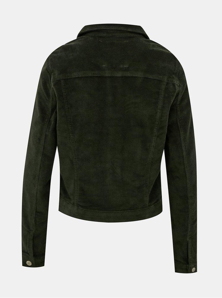 Jachete subtire pentru femei ONLY - verde inchis