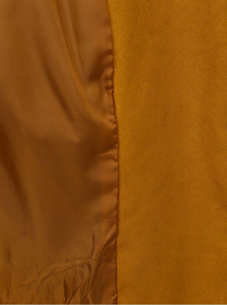 Hnědý křivák v semišové úpravě Jacqueline de Yong New Peach
