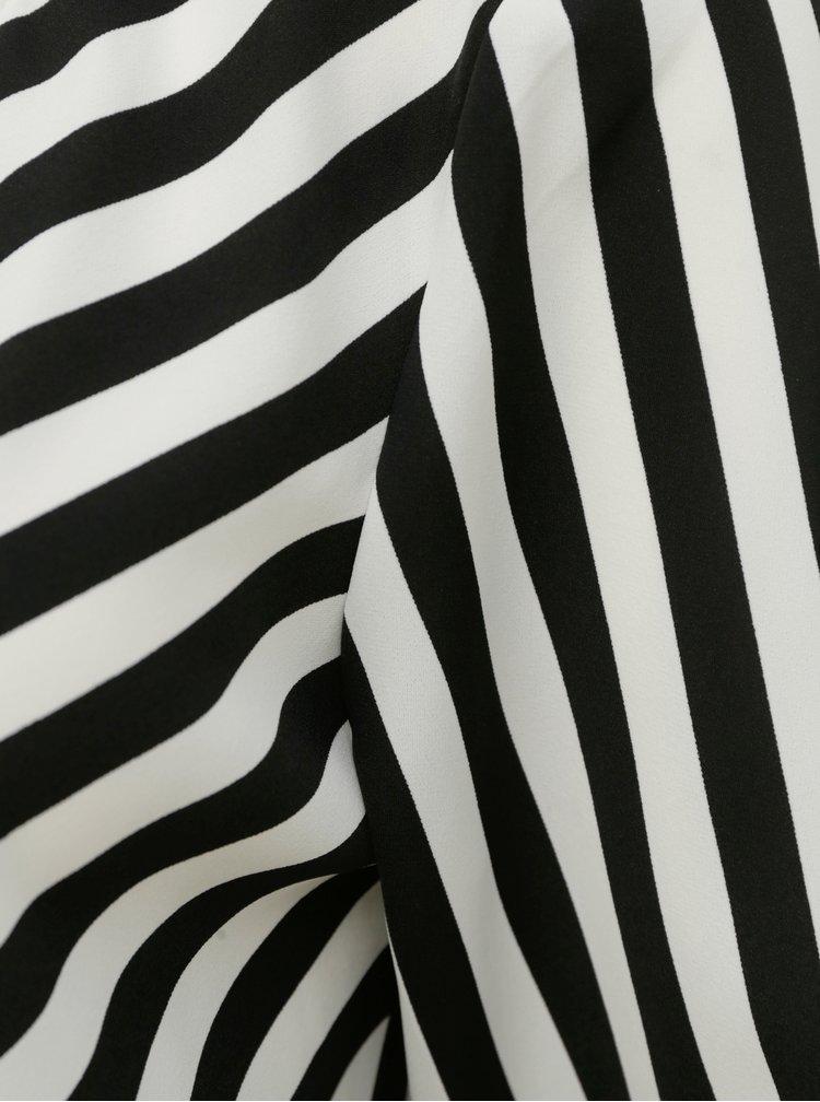 Černo-bílá pruhovaná halenka ONLY Uma