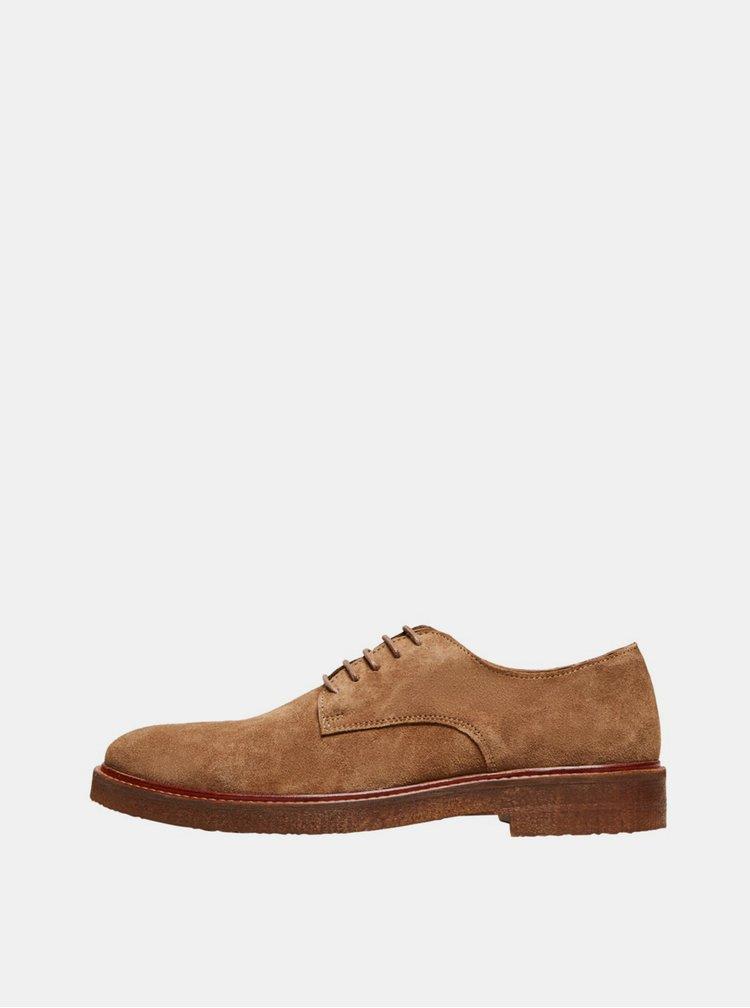 Pantofi si mocasini pentru barbati Selected Homme - maro