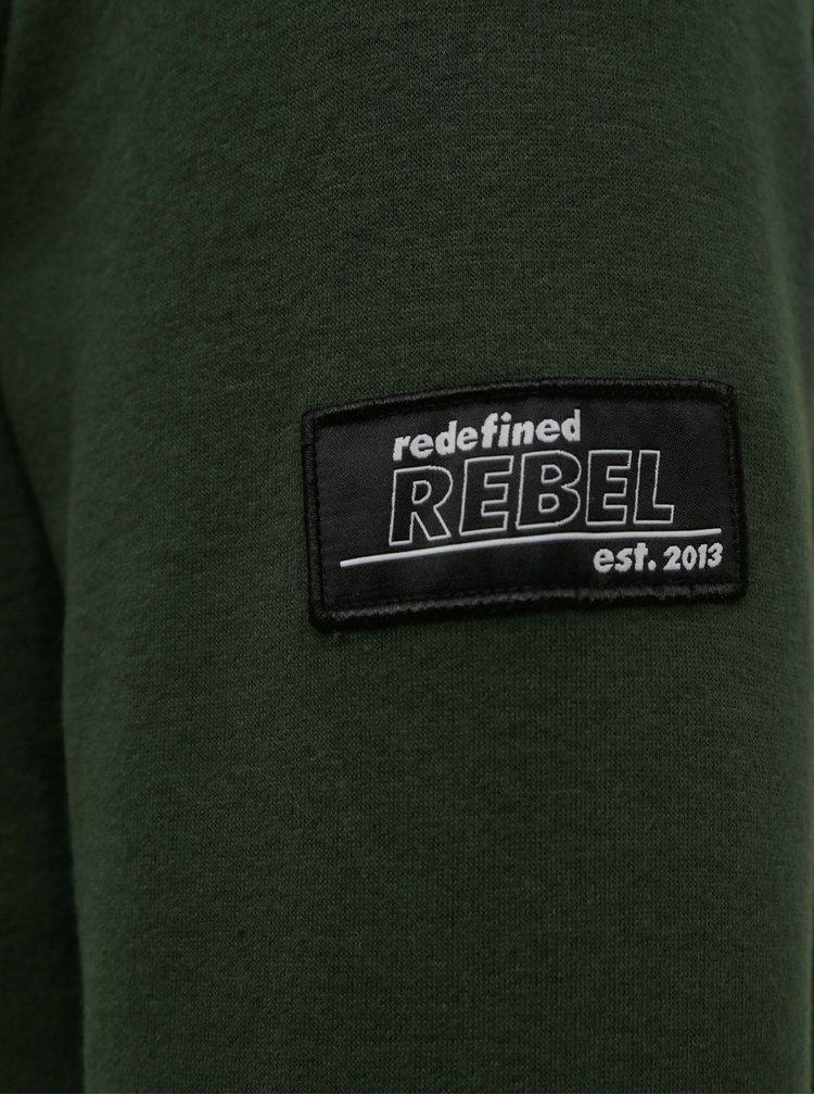 Tmavě zelená mikina Redefined Rebel