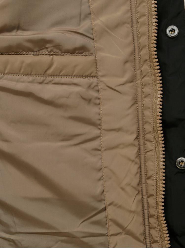 Jachete de iarna pentru barbati Redefined Rebel - maro deschis
