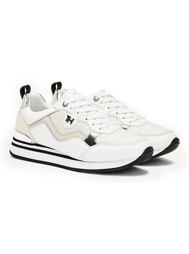 Tommy Hilfiger bílé tenisky Feminine Active City Sneaker White/Silver