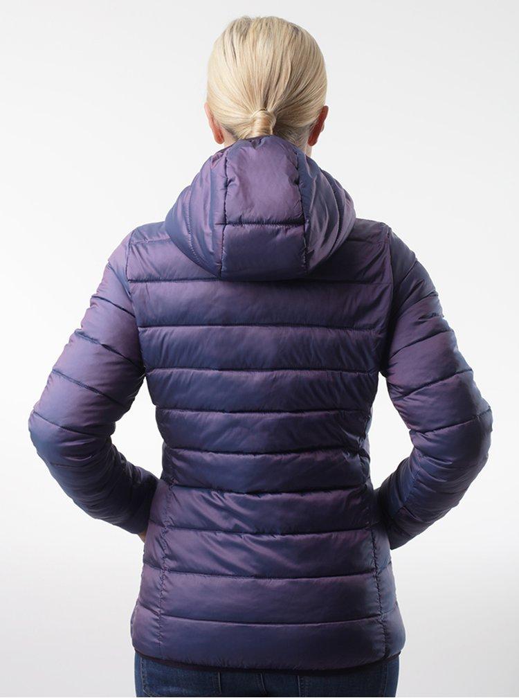 Fialová dámská prošívaná bunda LOAP