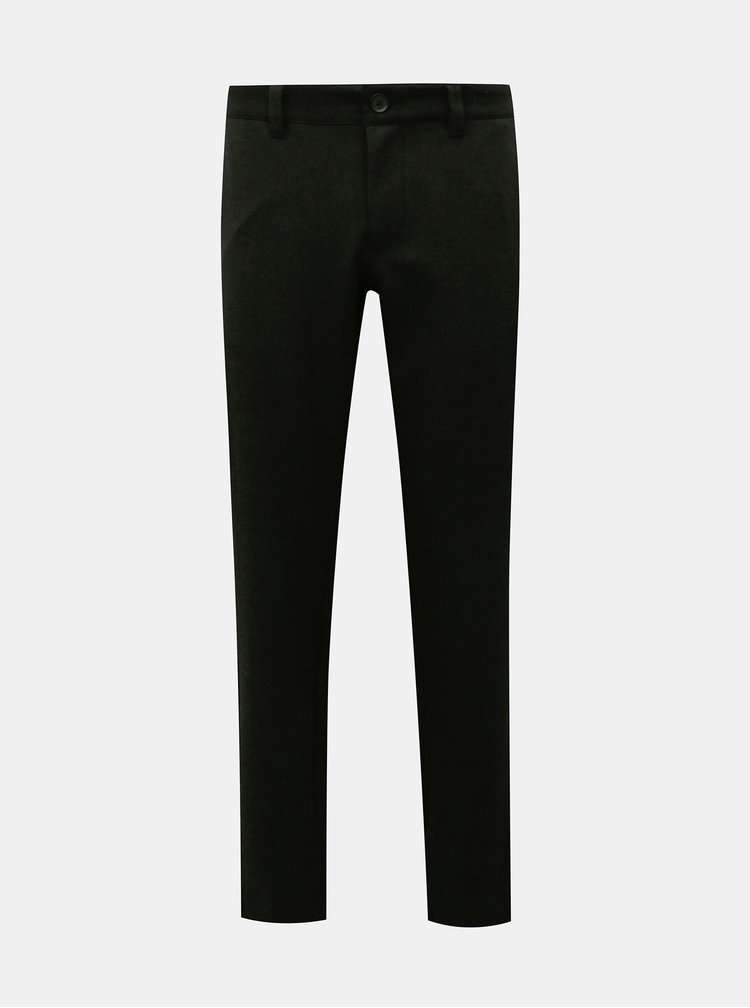 Pantaloni formali pentru barbati ONLY & SONS - negru