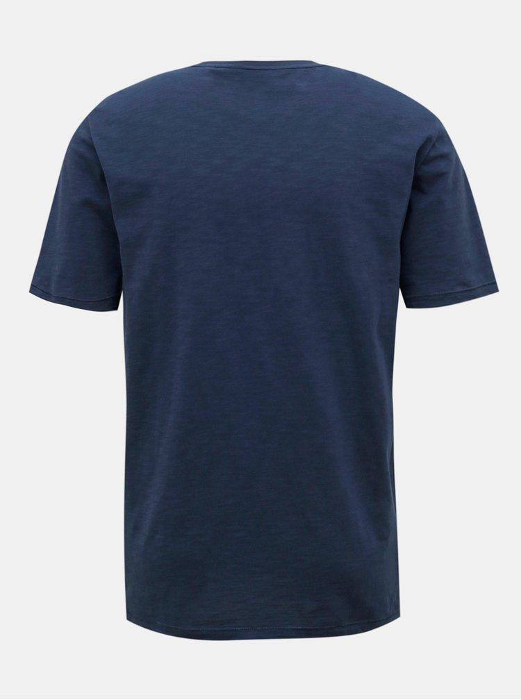 Tricouri pentru barbati ONLY & SONS - albastru inchis