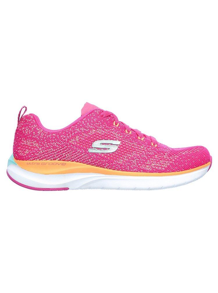 Skechers růžové tenisky Ultra Groove