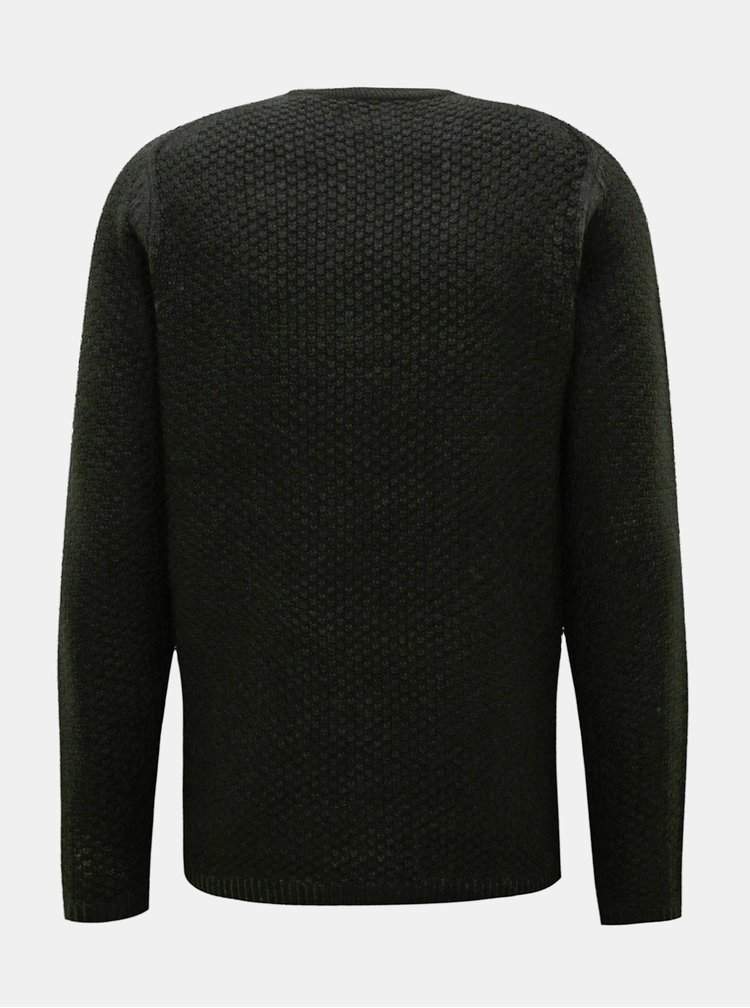 Černý svetr ONLY & SONS Loocer