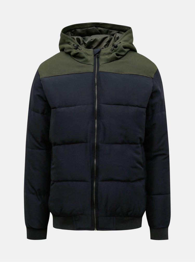 Jachete de iarna pentru barbati ONLY & SONS - albastru inchis