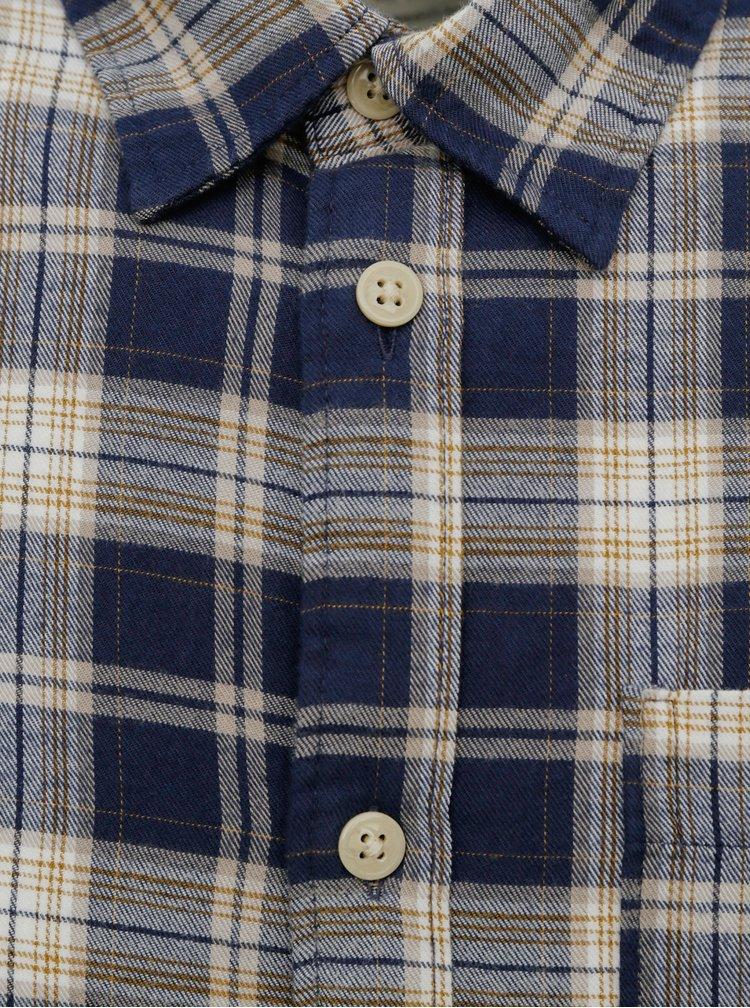 Modrá kostkovaná košile Selected Homme Matthew