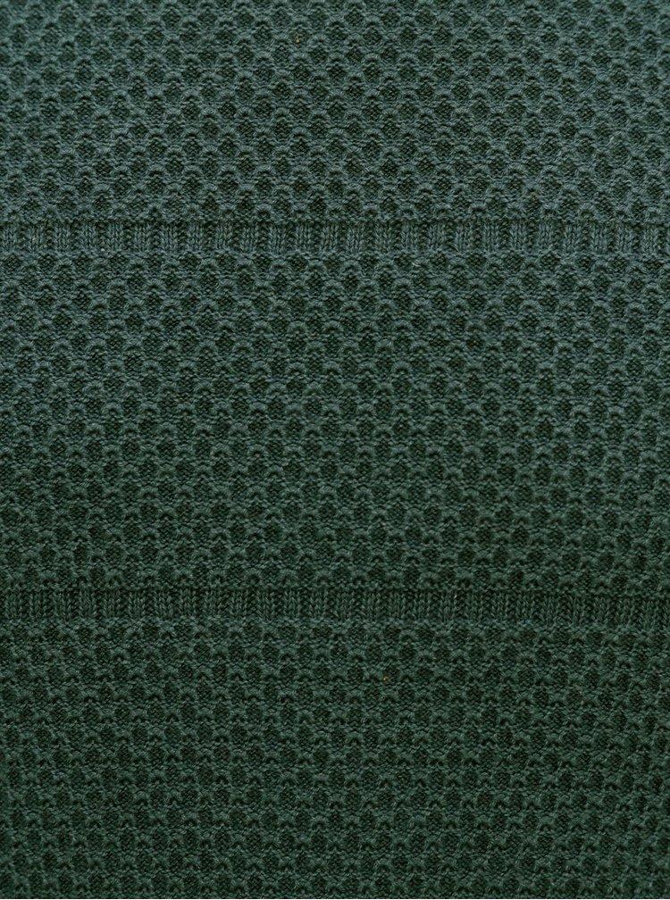 Tmavě zelený svetr Jack & Jones Cosnow