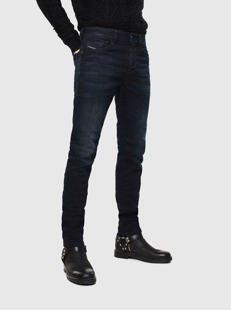 Černé pánské slim fit džíny Diesel