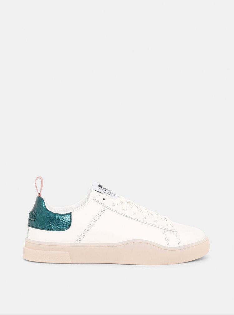 Pantofi sport si tenisi pentru femei Diesel - crem, verde