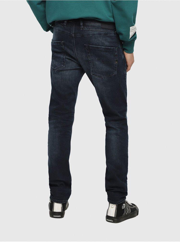 Slim fit pentru barbati Diesel - albastru inchis