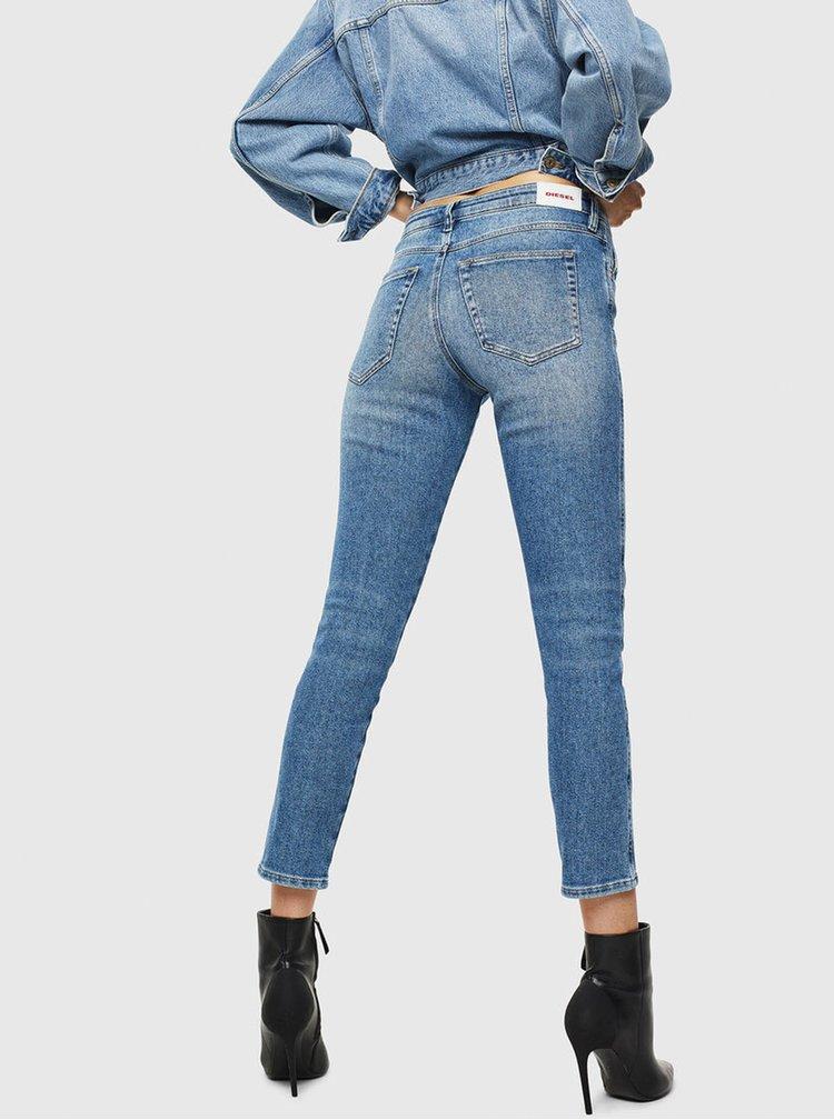 Slim fit pentru femei Diesel - albastru