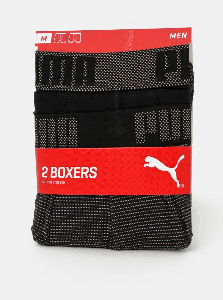 Boxeri mulati pentru barbati Puma - negru