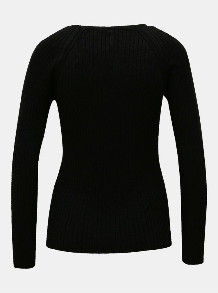 Černý basic svetr ONLY Natalia