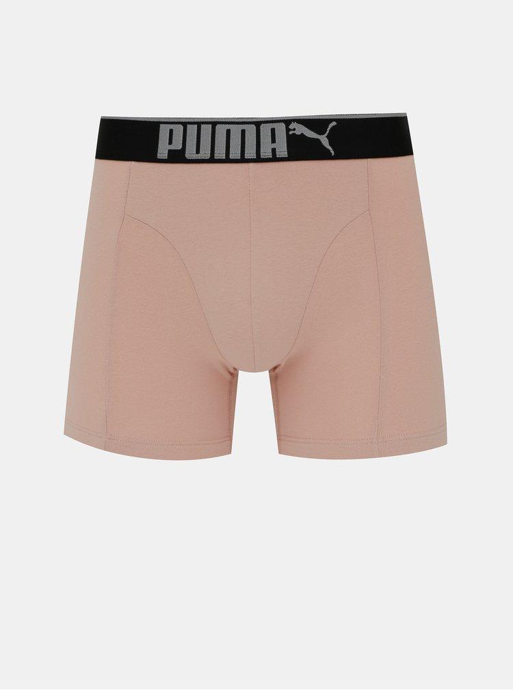 Boxeri mulati pentru barbati Puma - gri, negru