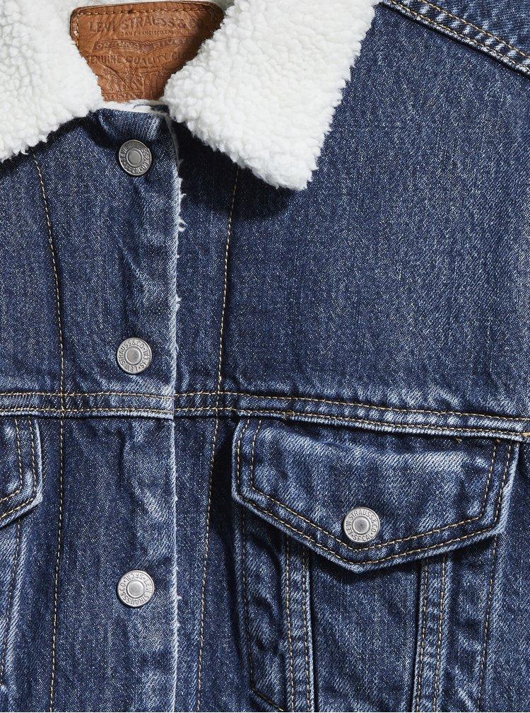 Jachete din denim pentru femei Levi's® - albastru