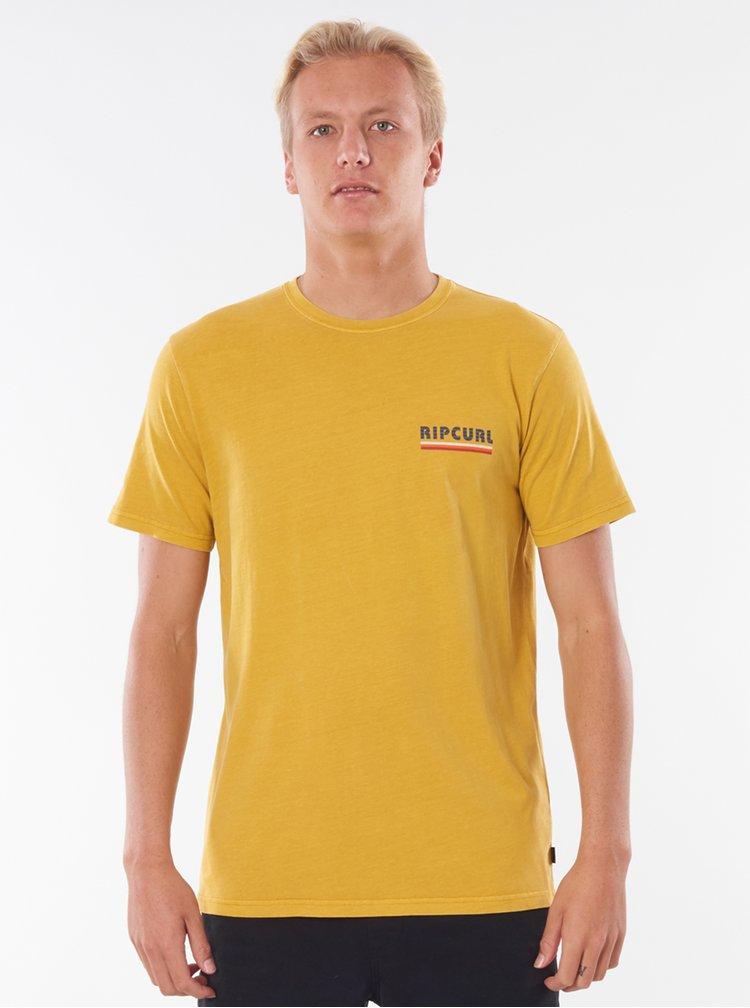 Tricouri pentru barbati Rip Curl - galben