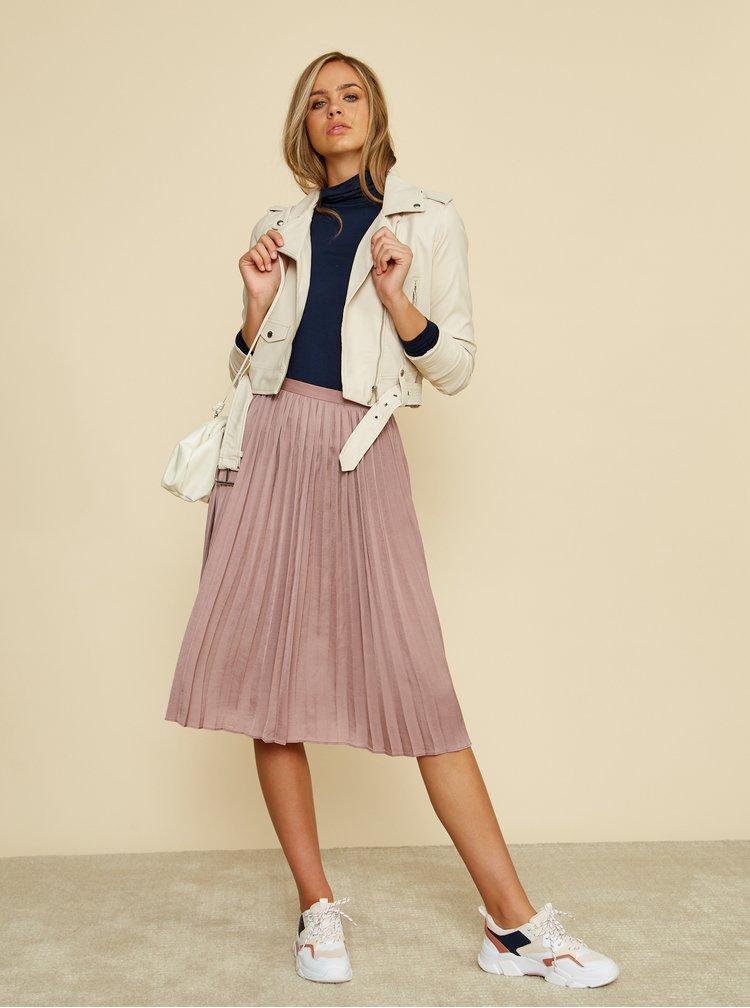 Světle fialová plisovaná sukně ZOOT Petra