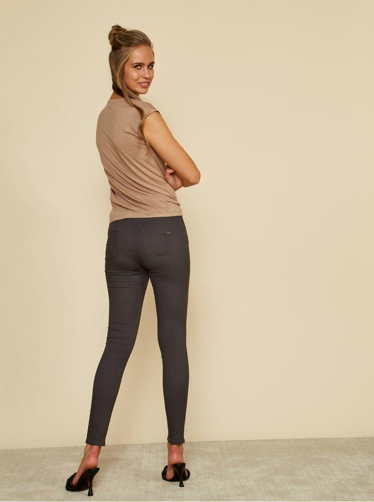 Šedé dámské slim fit kalhoty ZOOT Baseline Anna