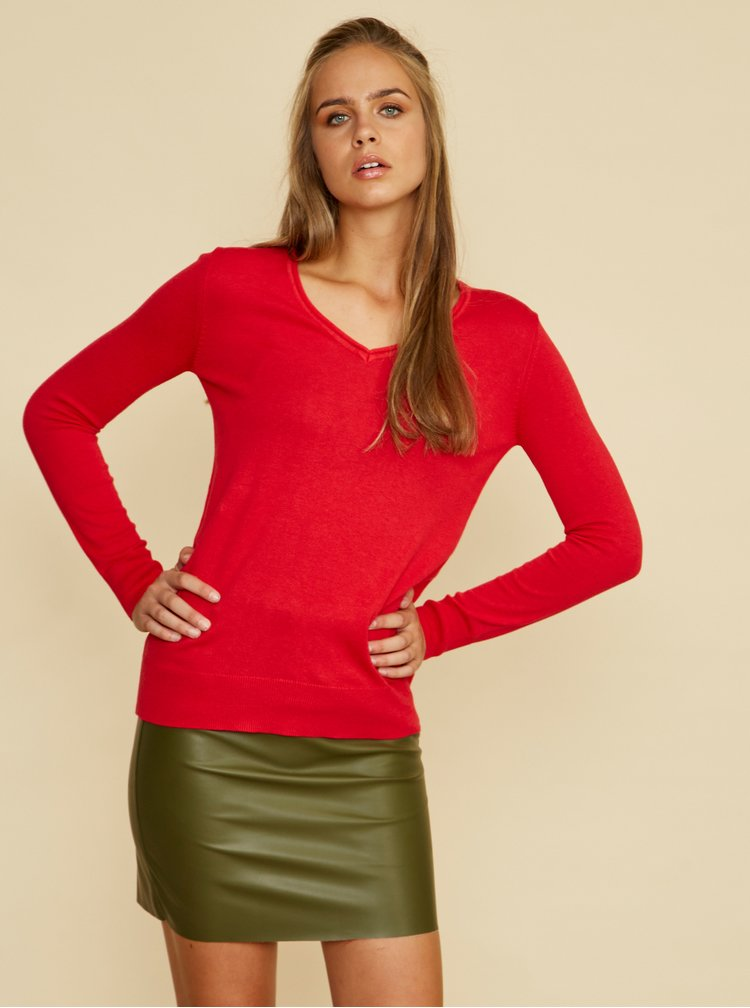 Pulovere si hanorace pentru femei ZOOT Baseline - rosu