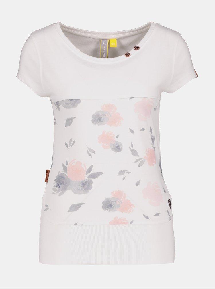 Tricouri pentru femei Alife and Kickin - alb