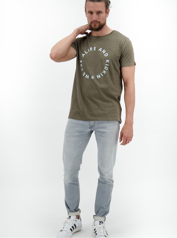 Tricouri pentru barbati Alife and Kickin - kaki