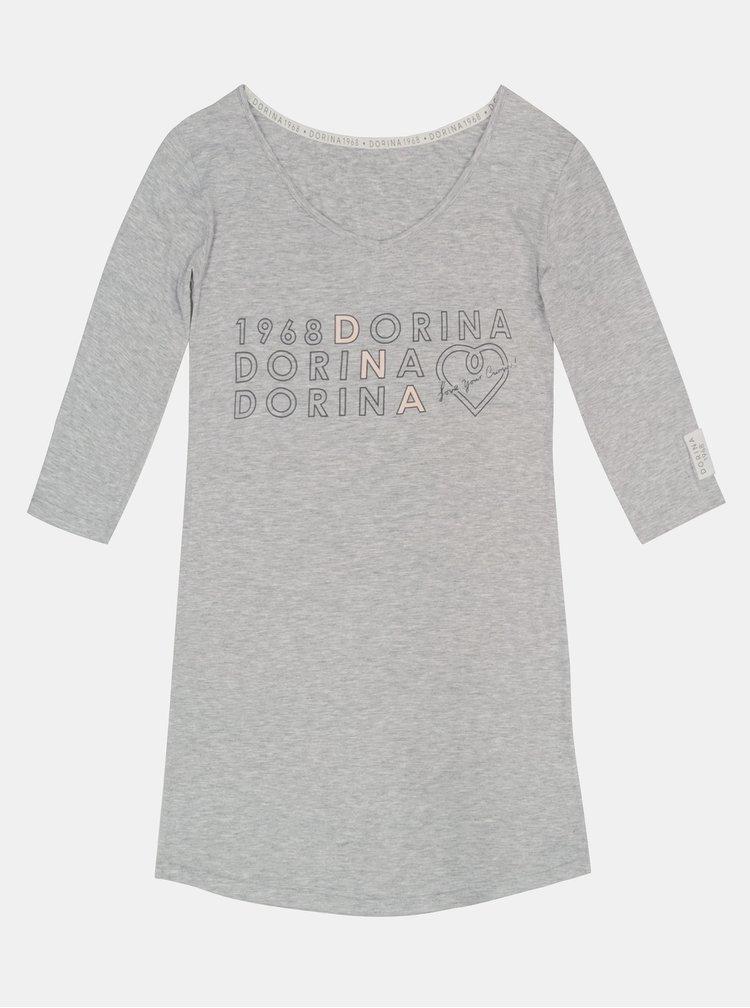 Šedá noční košile DORINA