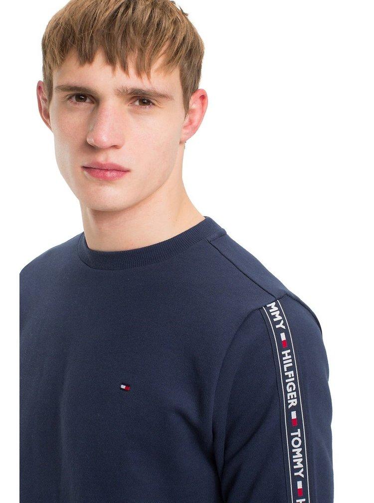 Tommy Hilfiger modrá pánská mikina Track Top LS HWK