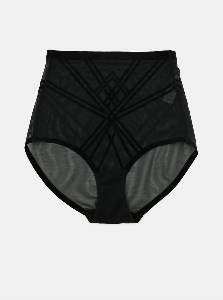 Černé tvarující kalhotky DORINA