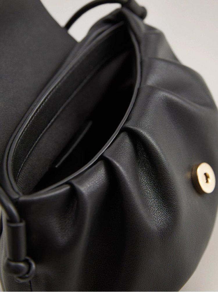 Černá crossbody kabelka Mango Pili