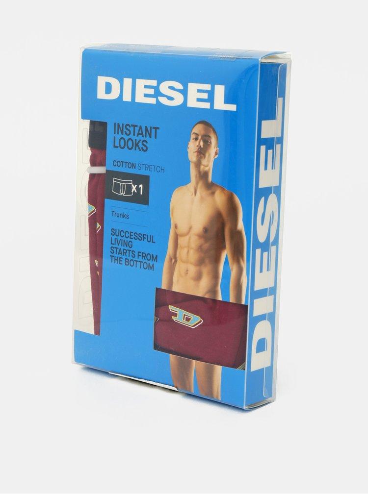 Boxeri mulati pentru barbati Diesel - bordo