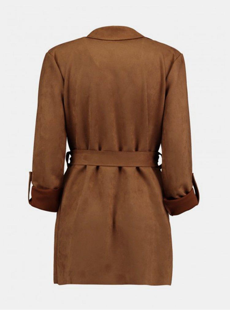 Hnědý lehký kabát Haily´s