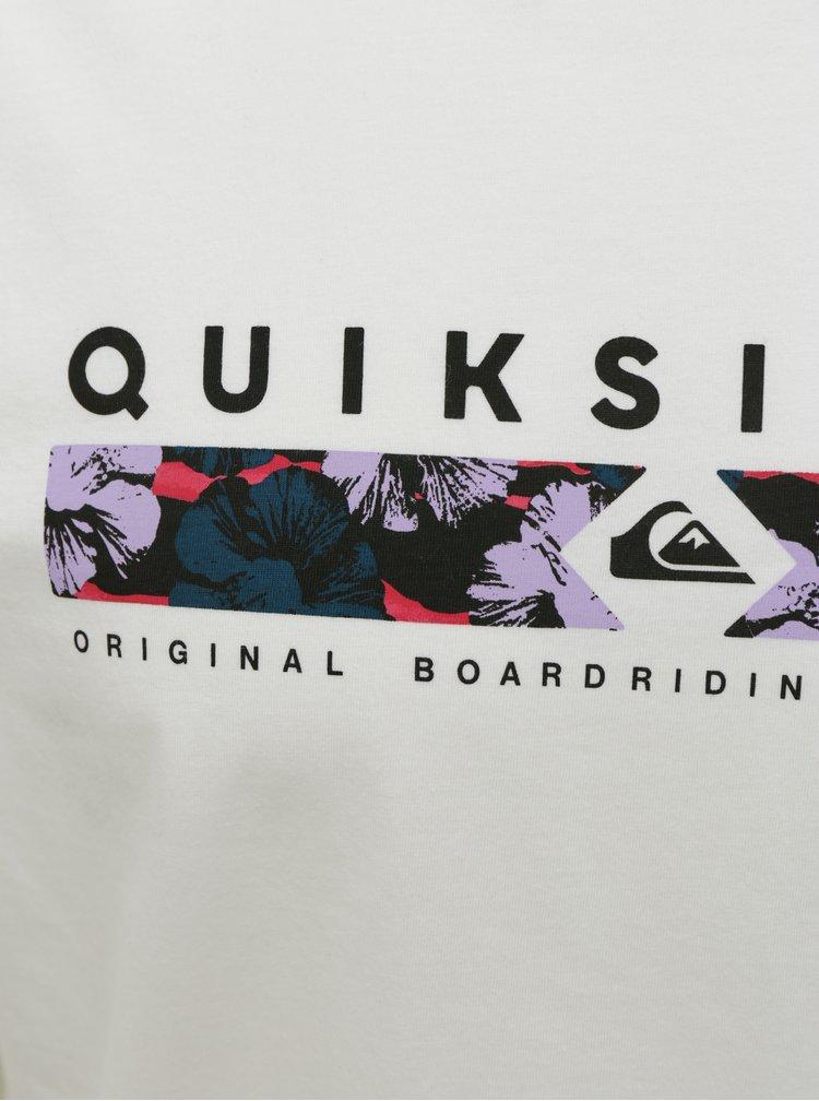 Bílé tričko Quiksilver
