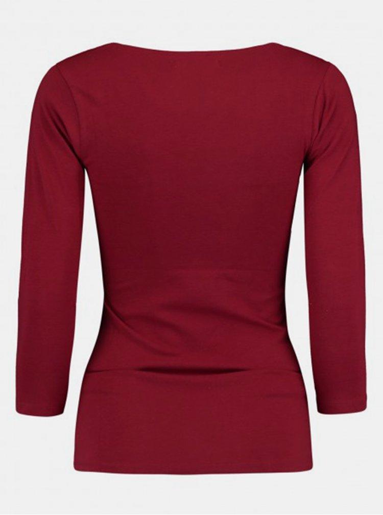 Bluze pentru femei Hailys - bordo