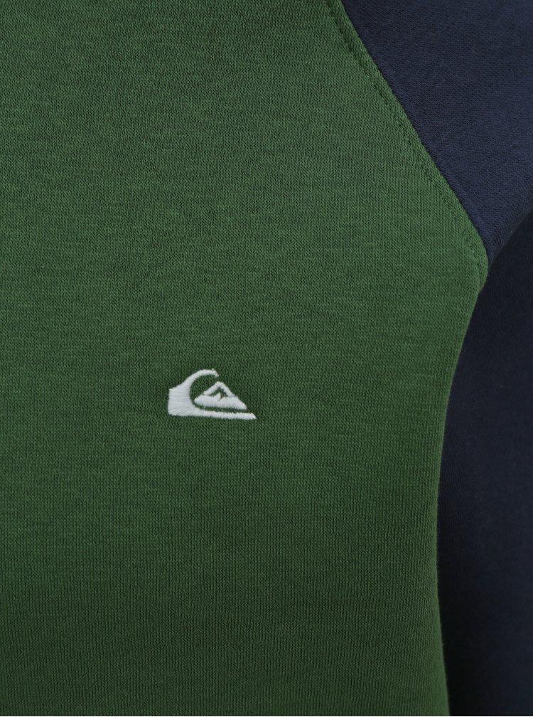 Pulovere cu gluga pentru barbati Quiksilver - verde