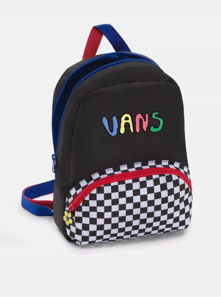 Černý vzorovaný batoh VANS