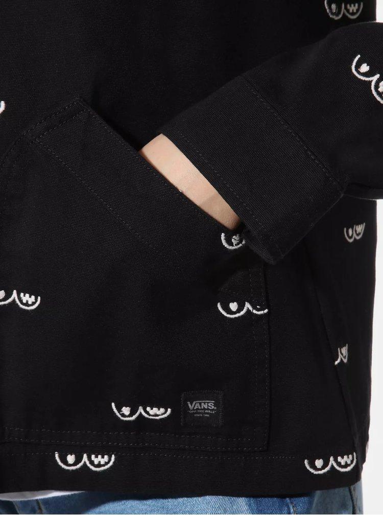 Černá dámská lehká bunda VANS
