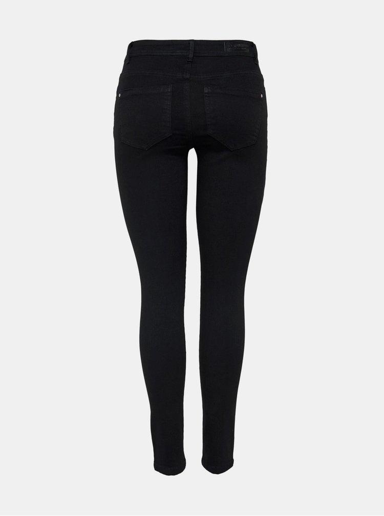 Černé skinny fit džíny ONLY Wauw