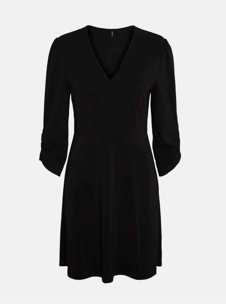 Černé šaty VERO MODA Alberta
