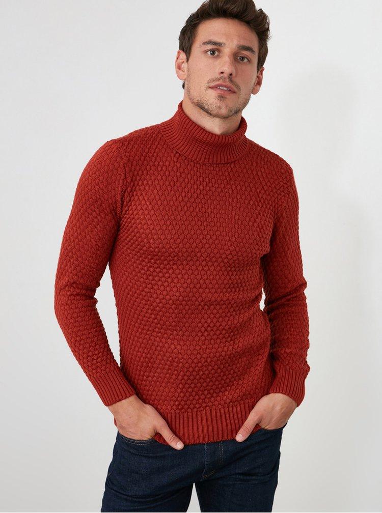Pulovere pentru barbati Trendyol - rosu