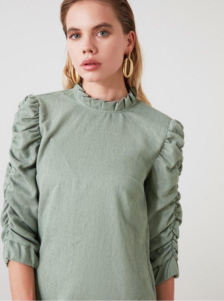 Rochii casual pentru femei Trendyol - verde deschis