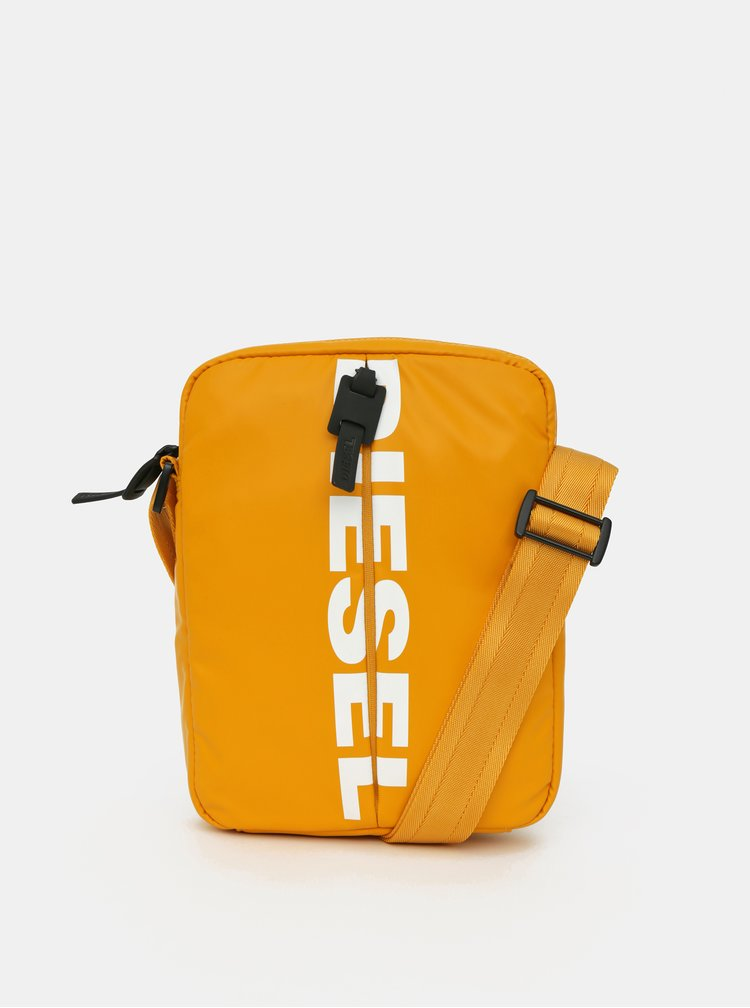 Žlutá pánská crossbody taška Diesel