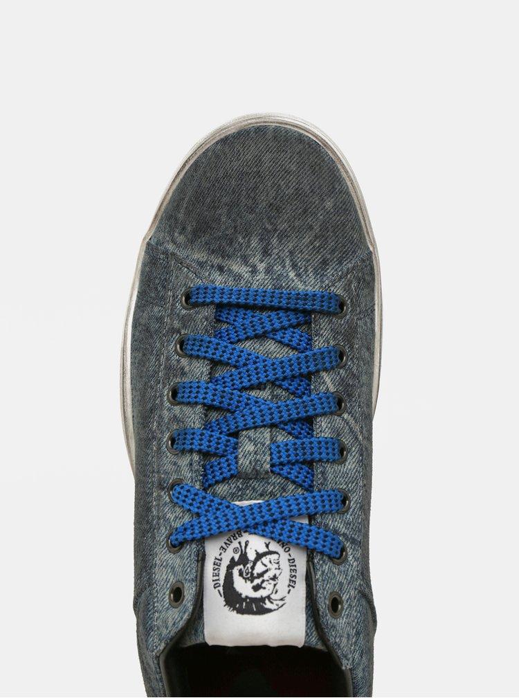 Modré pánské tenisky Diesel