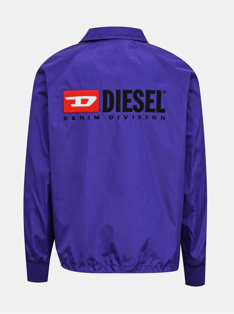 Fialová pánská bunda Diesel