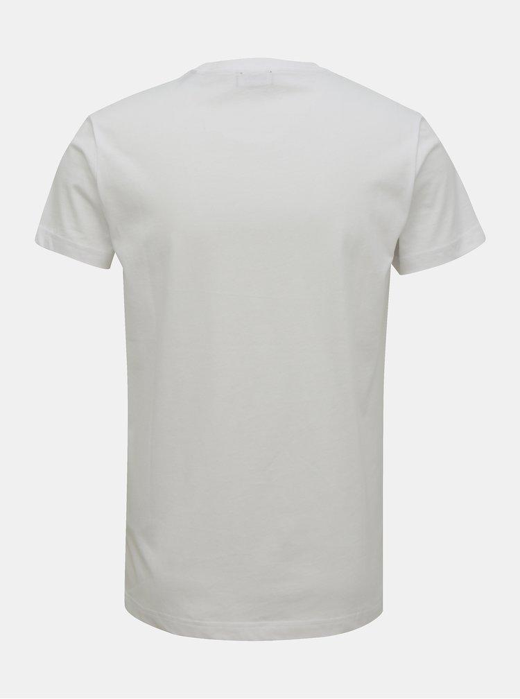 Bílé pánské tričko Diesel