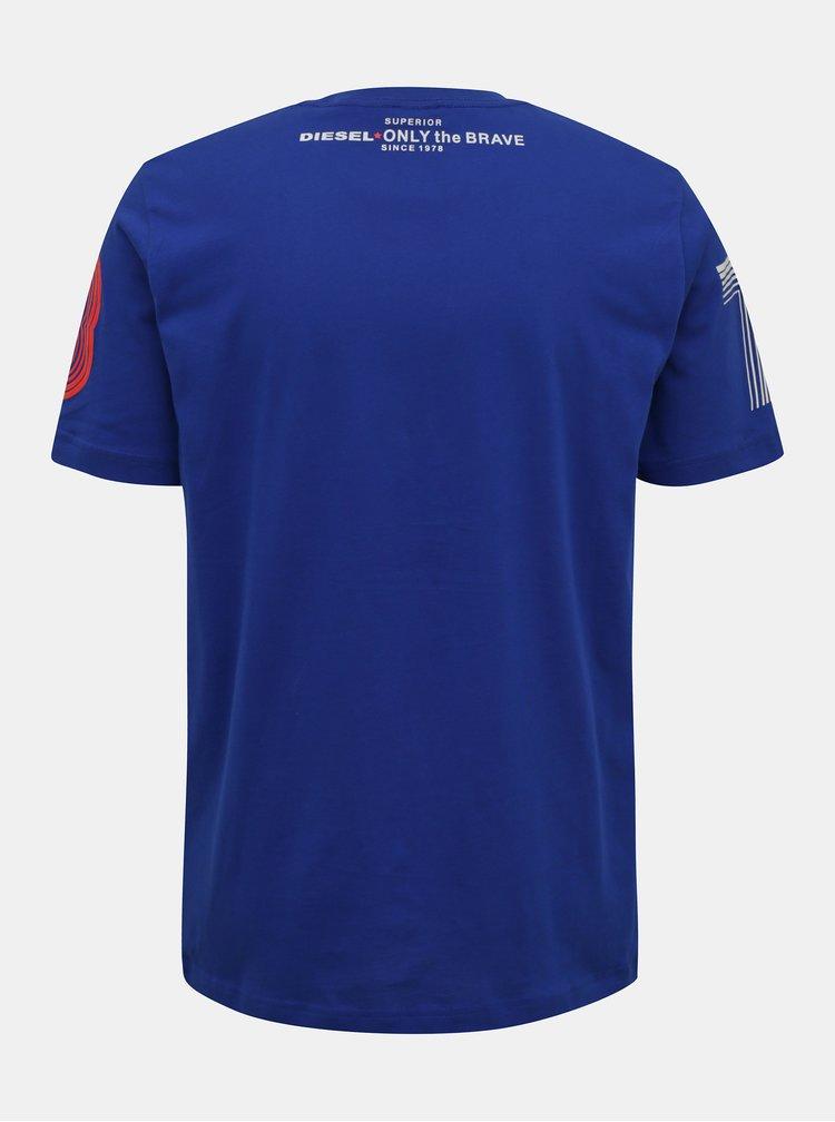 Tricouri pentru barbati Diesel - albastru